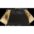 Z Spoke by Zac Posen - Z Spoke Zac Posen Posen Clutch Black/Gold - Bolsas com uma fivela - $250.00  ~ 214.72€