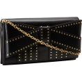 Z Spoke by Zac Posen - Z Spoke Zac Posen Shirley ZS1315 Clutch Black - Clutch bags - $425.00