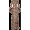 HalfMoonRun - ZAC POSEN print cotton gown - Dresses -