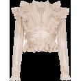 Georgine Dagher - ZIMMERMANN Battenberg cropped silk-blend - T-shirts -