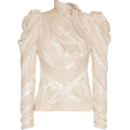 Georgine Dagher - ZIMMERMANN unbridled chevron panel cotto - Long sleeves shirts -