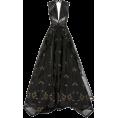 sandra  - Zac Posen black dress - Vestidos -