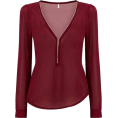lence59 - Zip Blouse - Camicie (lunghe) -