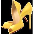 SvetlanaP70 - Туфли лимонный - Klasične cipele -