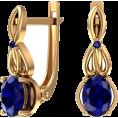Pokrovsky - Серьги Тайна сапфира - Earrings - $1,318.51