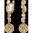 Pokrovsky - Золотые серьги Италия - Earrings - $180.02