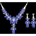 SvetlanaP70 - Колье и серьги с сапфирами - Other jewelry -