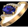 Pokrovsky - Золотое кольцо Цвет настроения – синий - Rings - $102.83