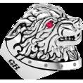 Pokrovsky - Серебряный перстень Волк - Rings - $695.46