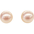 ABISTE(アビステ) - マジョルカパール12mm玉ピアス/ピンク - Earrings - ¥3,570  ~ $31.72