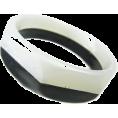 ABISTE(アビステ) - ツートーンバングル/ホワイト - Bracelets - ¥2,625  ~ $26.71