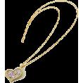 ABISTE(アビステ) - クリスタルハートネックレス/ゴールド - Jewelry - ¥11,550  ~ $117.51