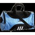 adidas - adidas Striker Small Duffel Collegiate Light Blue/Black - Bag - $28.49