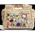 lence59 - Embroidered Bamboo Tote Bag - Hand bag -