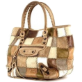 Doozer  - balenciaga-shopping-bag-in-beige-brown-a - Hand bag -