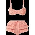 HalfMoonRun - LOVESHACKFANCY bikini - Kupaći kostimi -