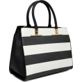 Doozer  - black and white bag - Hand bag -