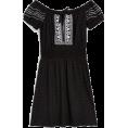 octobermaze  - black dress - Vestidos -
