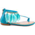 nastaran  taheri - Blue Thongs - Thongs -
