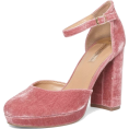 HalfMoonRun - blush velvet shoe - Classic shoes & Pumps -