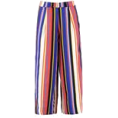 whisper - boohoo Mel Stripe Culottes - Capri & Cropped - £18.00  ~ $23.68
