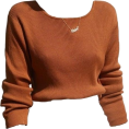 Kaitlin Smith - brown long sleeve - Shirts -