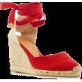 Qiou - canvas shoes - Thongs -