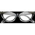 HalfMoonRun - cat eye glasses - Eyeglasses -