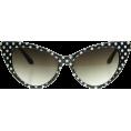 HalfMoonRun - cat eye sunglasses - Sunglasses -
