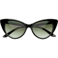 HalfMoonRun - cat eye sunglasses - Sunglasses -