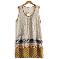 HalfMoonRun - cotton dress - Obleke -