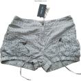 HalfMoonRun - cotton striped shorts - Shorts -