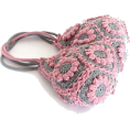 HalfMoonRun - crochet flower bag - Сумочки -