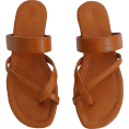 octobermaze  - cross strap slides - Sandals -
