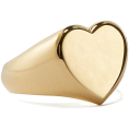 beautifulplace - demi fine heart signet ring - Rings -