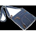 HalfMoonRun - denim bag - Messenger bags -