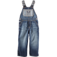 HalfMoonRun - denim overall toddler - Overall -