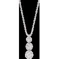 HalfMoonRun - diamond necklace - Necklaces -