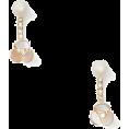 beautifulplace - disco pansy ear jacket - Earrings -