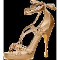 svijetlana - Donna-karan Sandals Gold - Sandals -