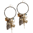 azrych - Earrings Brown - Earrings -