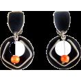 DiscoMermaid  - earrings - Naušnice -