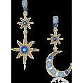 HalfMoonRun - earrings - Earrings -
