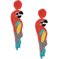 Doozer  - earrings parrot - Earrings -