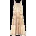DEUXIEME CLASSE(ドゥーズィエム) - ドゥーズィエム クラス[DEUXIEME CLASSE] ローンレース マキシワンピースベージュ - Dresses - ¥55,650  ~ $566.16