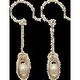 GALLARDAGALANTE(ガリャルダガラ) - ガリャルダガランテ[GALLARDAGALANTE] カゴモチーフピアスホワイト - Earrings - ¥5,040  ~ $51.28