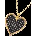 LIZ LISA(リズリサ) - 【TRALALA】ハートドットロゴネックレス - Necklaces - ¥2,625  ~ $26.71