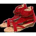 FREE'S MART(フリーズマート) - ビーズストラップサンダル - Sandals - ¥5,985  ~ $60.89