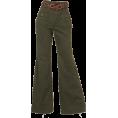 31 Sons de mode(トランテアン) - 合皮ベルト付バギーパンツ - Брюки - длинные - ¥9,345  ~ 71.79€