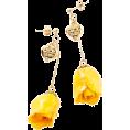 CECIL McBEE(セシルマクビー) - オールドローズピアス - Earrings - ¥3,990  ~ $40.59